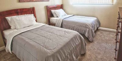 Keystone II house bedroom - Keystone Sober Living - California sober living homes