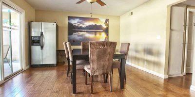 Keystone II house dining room - Keystone Sober Living - Costa Mesa sober living house