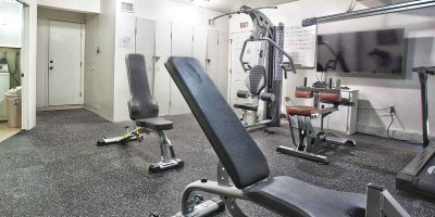 Keystone II house gym - Keystone Sober Living - Sober Living Home in Costa Mesa