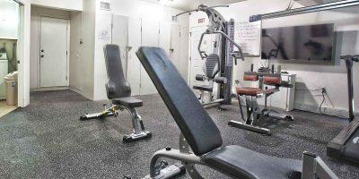 Keystone II house gym - Keystone Sober Living - Sober Living Home in Costa Mesa