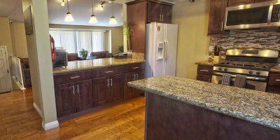 Keystone II house kitchen - Keystone Sober Living - Sober Living Homes in Costa Mesa, CA